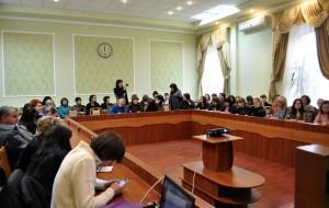 Інтерактивна конференція в БДПУ з британським професором