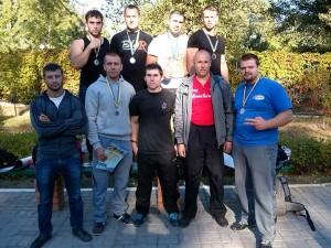 Наші – на турнірі з армспорту «Залізна осінь-2014»