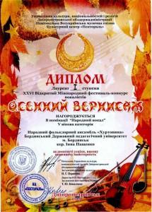 Диплом Хуртовина 2015