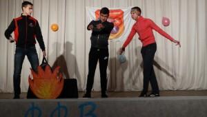 Творчий дебют молодих спортсменів