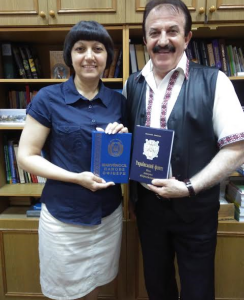 Книги від адмірала – університетській бібліотеці!