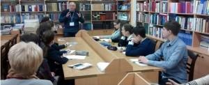 Зустріч херсонських ліцеїстів із нашим професором