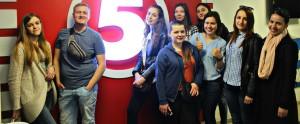 Студентки-журналістки штурмують «Інтер»