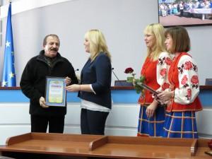 Наші – серед переможців конкурсу «Кращий волонтер міста»