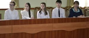 У професорів на каві – випускники Бердянської ЗЗСО №5