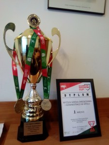 Вітання польським партнерам з перемогою у Академічному чемпіонаті Польщі з волейболу (чоловіки)