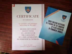 Сертифікат Польща