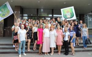 Першокурсники 2018 року з викладачами факультету